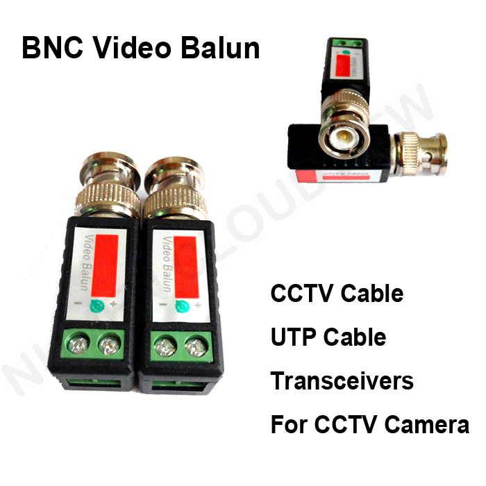Video Balun CCTV Accessories UTP CCTV Camera Twisted BNC Passive Transceiver Balun 500M DVR BNC video CCTV spare parts System 3 pommes футболка 3pommes для мальчика