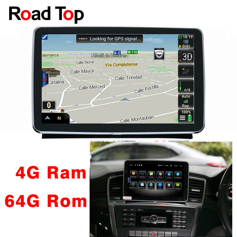 8 4 Android Display Car Radio Multimedia Monitor GPS Navigation Head Unit for Mercedes Benz ML350