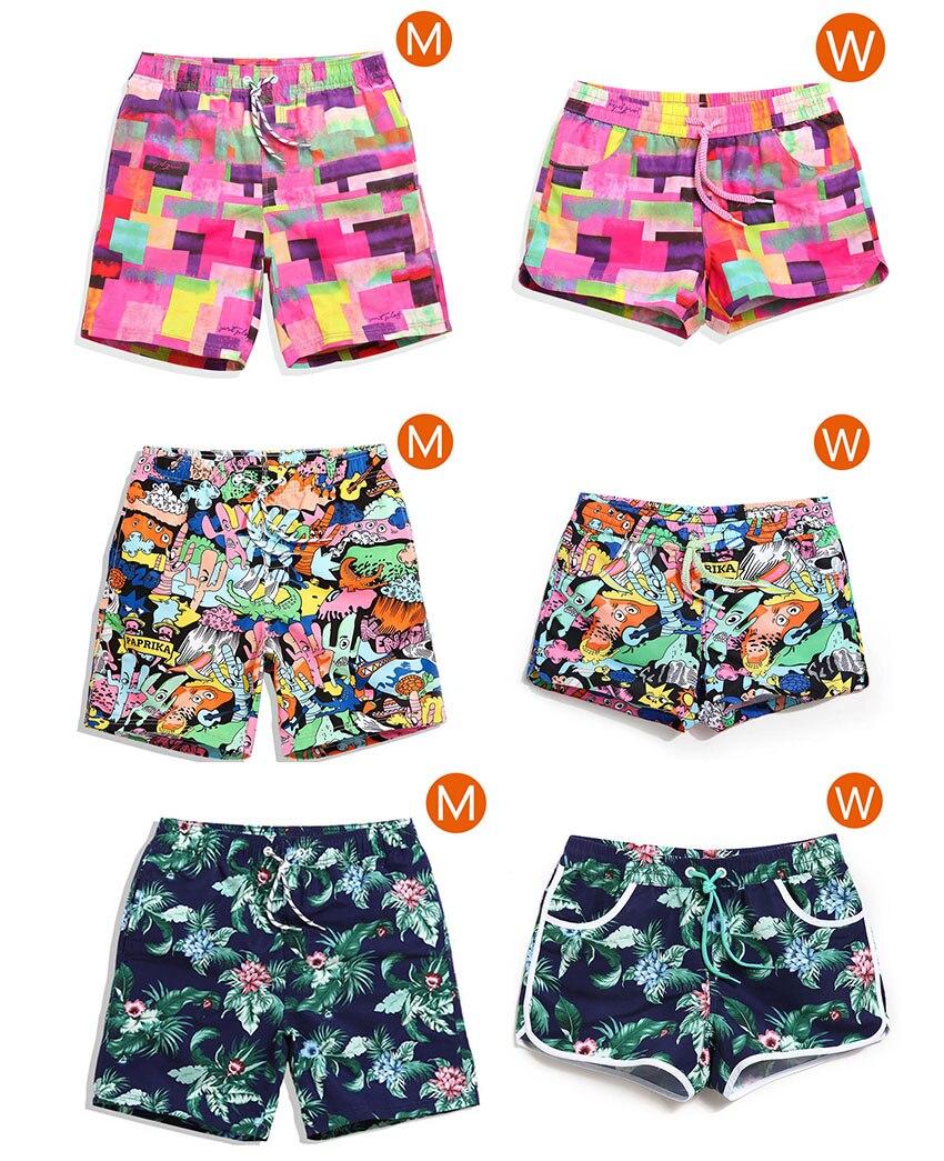 Couple font b Board b font BEACH Shorts Surf beach towel Swimwear Quick Dry Sport Short