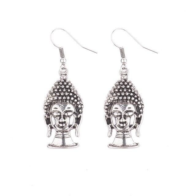 Women's Buddha Drop Earrings 4