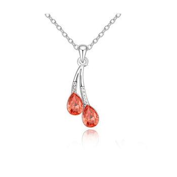 Crystal Water Drop Necklace 2