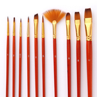 10Pcs Paint Brushes ...