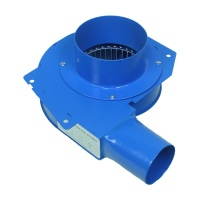 High temperature blower 60w Small 10cm Pipe fan Hot Smoke Gas Suck Extraction Small CCentrifugal Fan Blower 220v