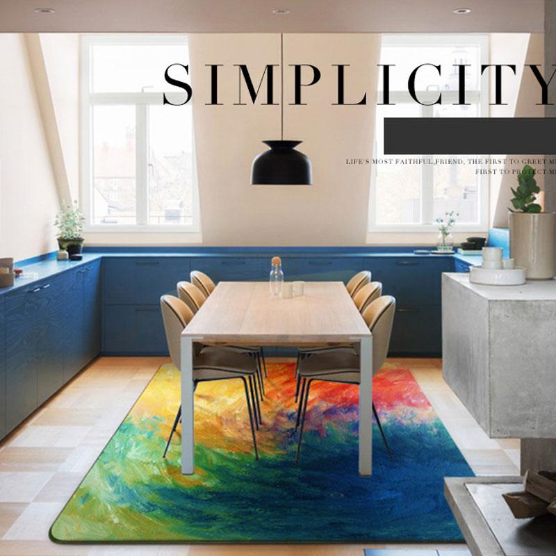 160X230cm Tapete Grande Carpet European Large Floor Mats and Carpets Modern Anti-skid Carpets For Living Room Bedroom Alfombras
