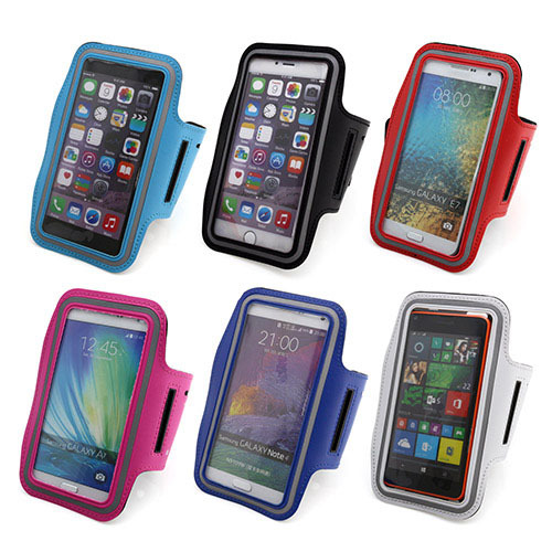 Brassard sport Mobile Phone Bags Cases For Iphone 6 plus Case Nylon Running Sport Armband for LG G4 galaxy A7 5-5.5 inch phone