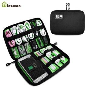 Portable Travel zipper USB Cab