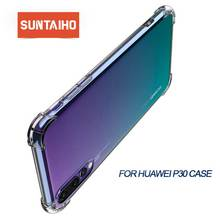 Suntaiho For Huawei P30 pro P20 Pro lite Mate 20 Case Soft Silicon Clear Transparent for huawei p smart 2019