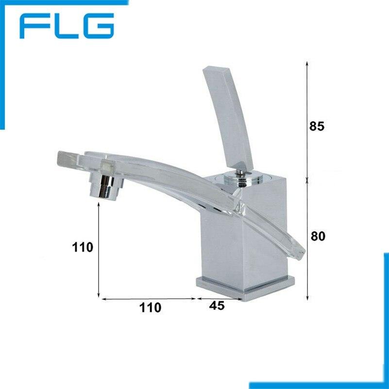 ФОТО Free Shipping New Brand Bathroom Faucet,  Basin Mixer Chrome Finishing Copper Tap banheiro Faucet