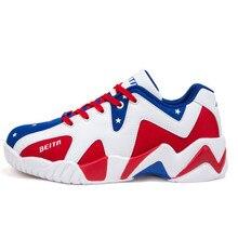 Retro Men Basketball Shoes Basketball Sneakers Low Cut Sport Shoes zapatillas de basquet Men Basket Homme Zapatos De Baloncesto
