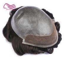 Фронтальная кружевная Мужская парик, парик, индийские волосы remy 8X10 размер, протезирование волос, замена волос, бесплатная доставка, tsingtaowigs