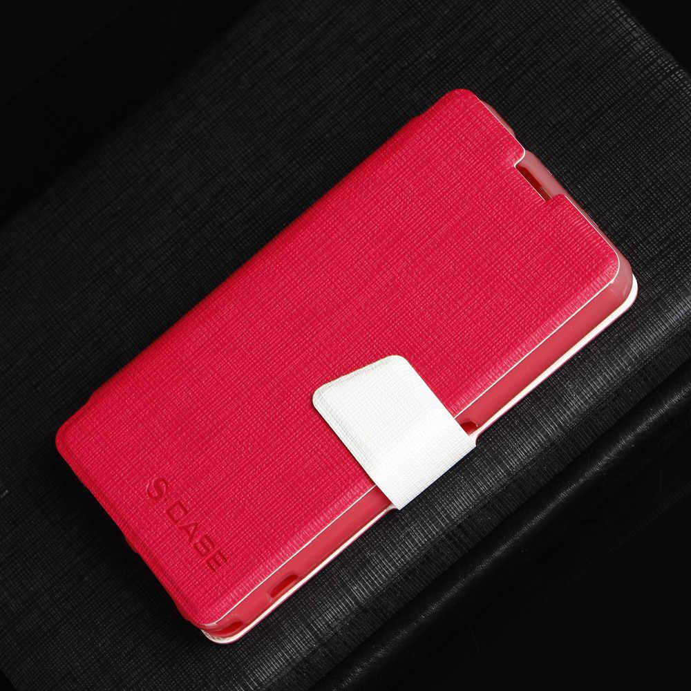 Da PU 4.3For Sony Xperia Z1 Nhỏ Gọn Dành Cho Sony Z1 Xperia Nhỏ Gọn Z1 Mini D5503 Di Flip Cover ốp lưng