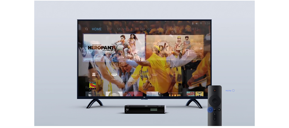 Xiaomi Smart 4A 43inches Mi LED Full HD Android TV 8 0 4A 108 cm Ultimate  PatchWall 1GB 8GB Ultra-bright LED Display 1920 x 1080