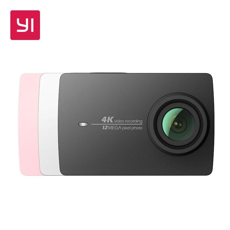 YI 4 K acción Cámara versión internacional edición Ambarella A9SE deportes Mini cámara brazo 12MP CMOS 2,19