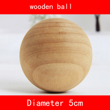 5 piece/set Schima superba wood ball diameter 5cm