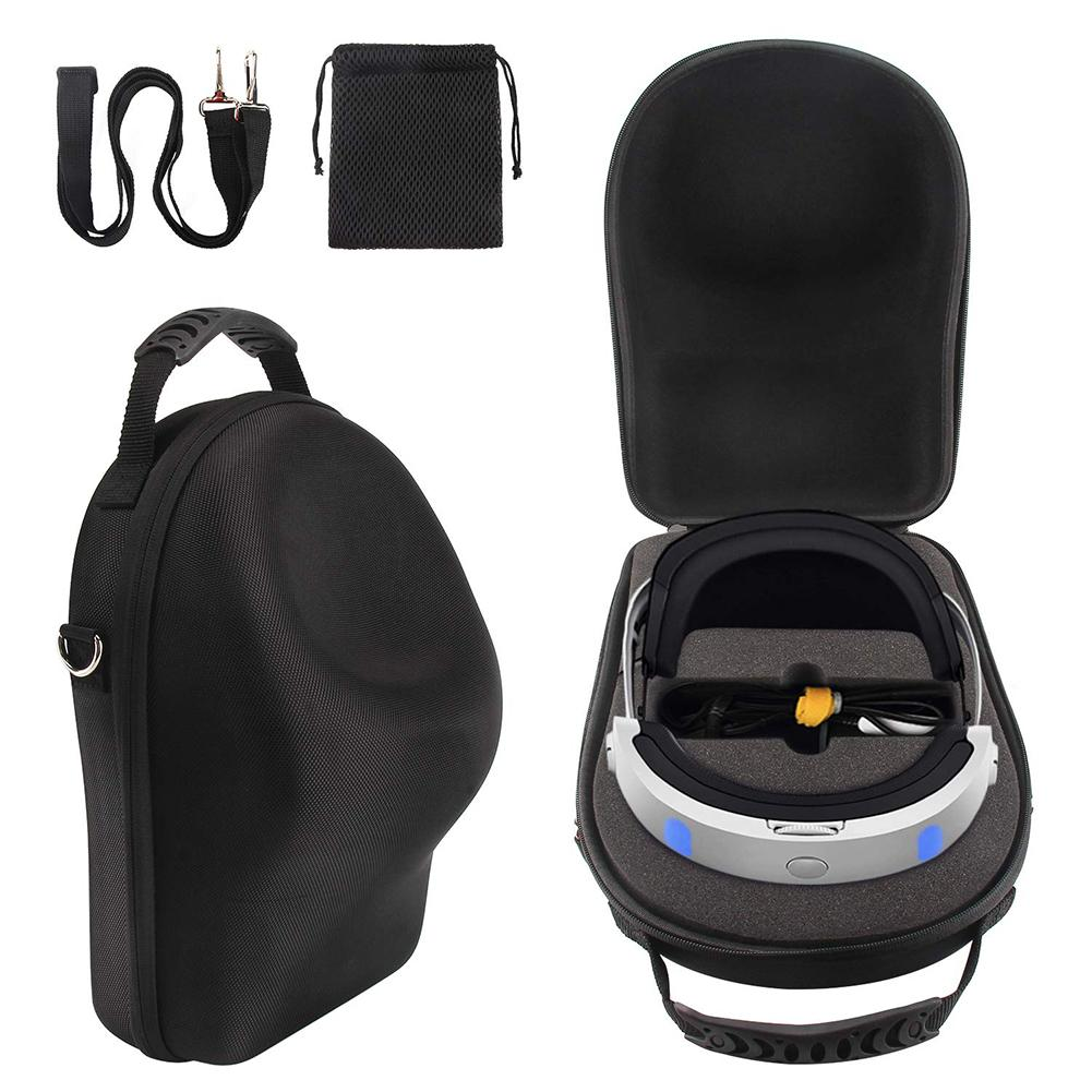 Storage Case For <font><b>Sony</b></font> <font><b>VR</b></font> <font><b>PS4</b></font> PSVR 3D Glasses Large Capacity EVA Waterproof Storage Bag For PlayStation <font><b>VR</b></font> Outdoor Accessories image