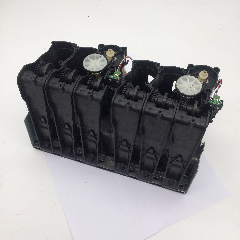 ENCRE porte-cartouche POUR HP DesignJet T1100 Q6683-60008 Q6683-60195ENCRE porte-cartouche POUR HP DesignJet T1100 Q6683-60008 Q6683-60195