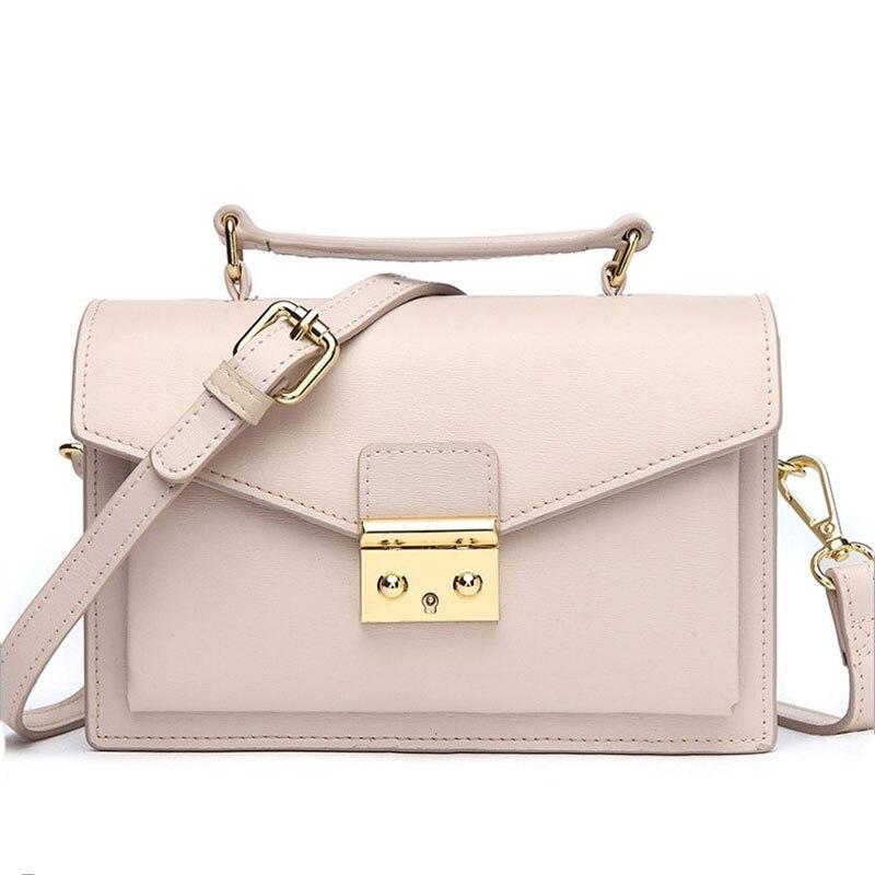 купить Fashion Woman Bag Genuine Leather Crossbody Bags For Women Messenger Bags Female Shoulder Handbag Crossbody Bags For Women по цене 2267.68 рублей
