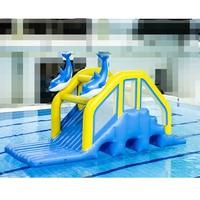 Pool Inflatable Floating Water Slide swimming pool