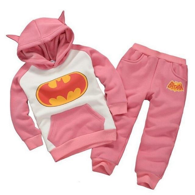 86d75d2b9851a 2017 Nouveau Printemps Automne Vêtements de Sport pour Enfants Costume de  Batman Enfant À Capuche +