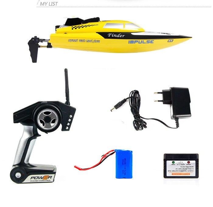 Original jouet électronique WL912 haute qualité 2.4G télécommande bateau de vitesse RC bateau 100 m Distance de contrôle
