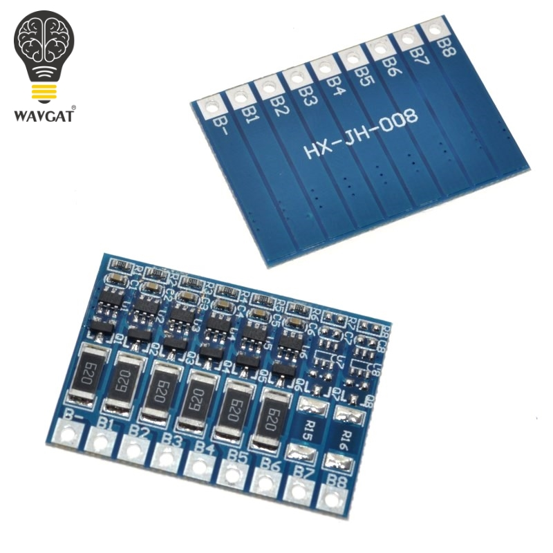 2017 Promotion Real New 6s 4.2v Li-ion Balancer Board Balncing Full Charge Battery Balance Wavgat ...