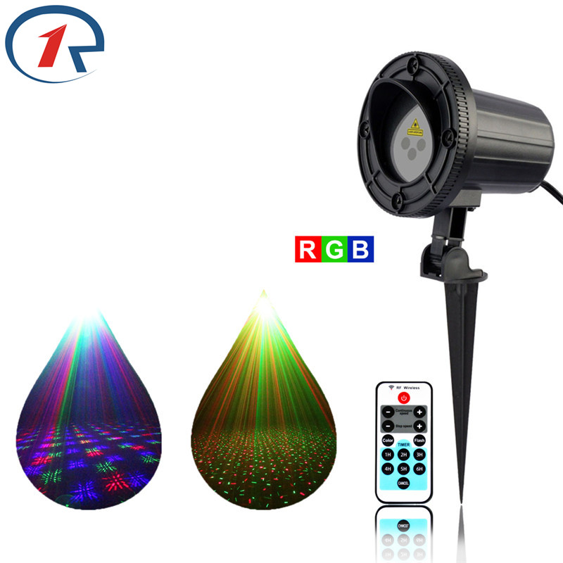 ZjRight IR Remote RGB Laser Stage lights dynamic star projection Waterproof gala party outdoor Light bar dj disco ktv floor lamp zjright laser light ir remote red green christmas lights outdoor waterproof garden lamp park party bar dj disco halloween lights