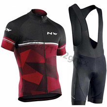Northwave NW 2019 New Summer Cycling Jersey Men Short Sleeve Set Bike Wear bib shorts MTB Bicycle Clothing Maillot Ropa Ciclismo стоимость