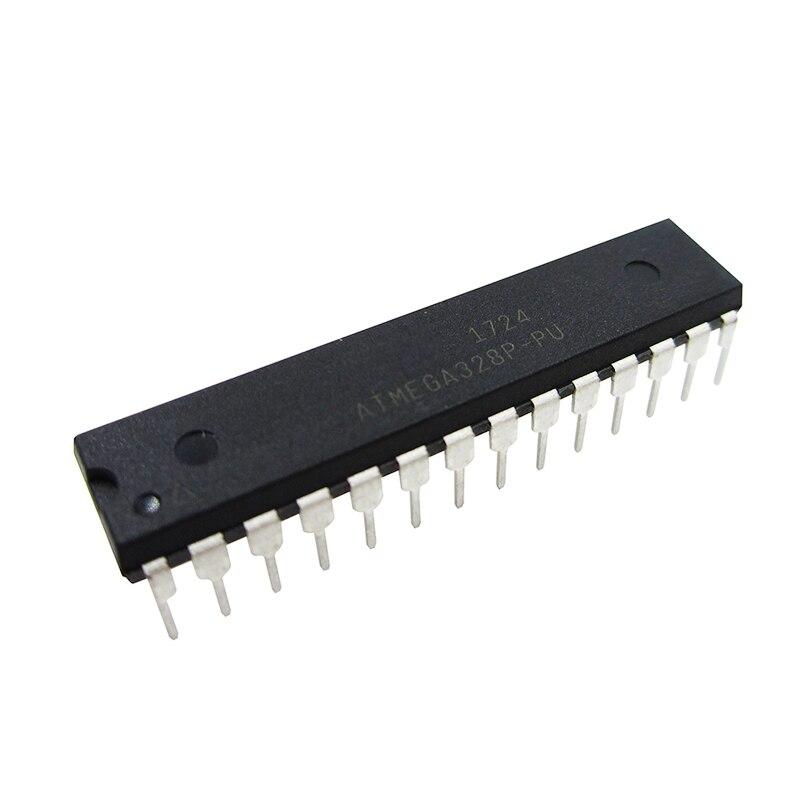 ATMEGA328P-PU ATMEGA328P CHIP ATMEGA328 Microcontroller MCU AVR 32K 20MHz FLASH DIP-28 bonatech 03120303 at89s52 24ju plcc 44 mcu microcontroller black