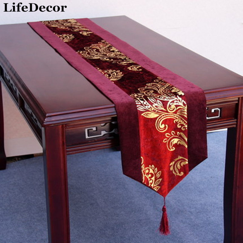 Letze Dining Table Flag Rustic Dining Table Runner Chinese Style Coffee Table Runner Cloth