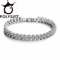 South Korea Version Of The Rome Silver Bracelet Carina Lau With The Hand Of The Zircon