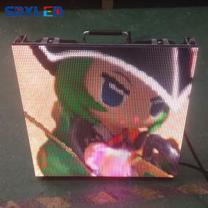 Image 2 - 7 กิโลกรัม/ชิ้น RentalP2.6 P2.976 P3.91 P4.81 ในร่มราคาหน้าจอ LED Die Cast อลูมิเนียมตู้ LED แผง 500x500 มม.
