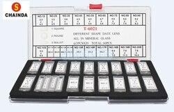 Darmowa wysyłka 1 zestaw T-6021 inny kształt data obiektyw wszystkie w szkło mineralne 60 sztuk