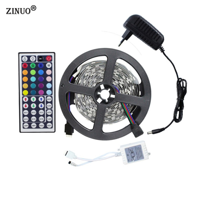 Zinuo 5m rgb led strip light kit smd5050 150leds flexible light zinuo 5m rgb led strip light kit smd5050 150leds flexible light44keys remote controller aloadofball Gallery