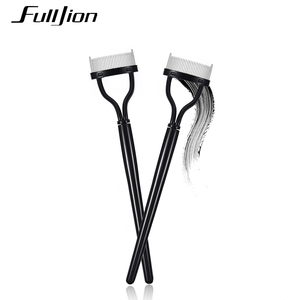 Image 4 - Fulljion Eyelash Comb Lash Separator Lift Curl Metal Brush Mascara Guide Applicator Eyebrow Brush Curler Beauty Eye Makeup Tools