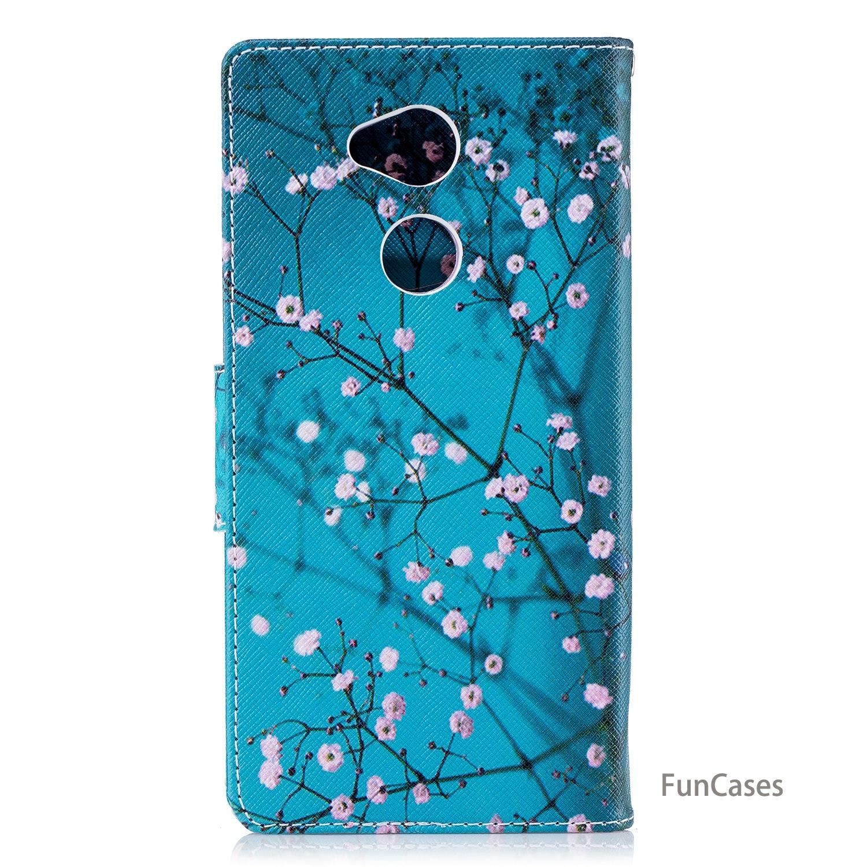 Grimace Flip Phone Case sFor Cellular Sony XA2 Ultra Soft TPU Back Cover Kryty Plain Cellphone Case For Sony Xperia XA2 Ultra