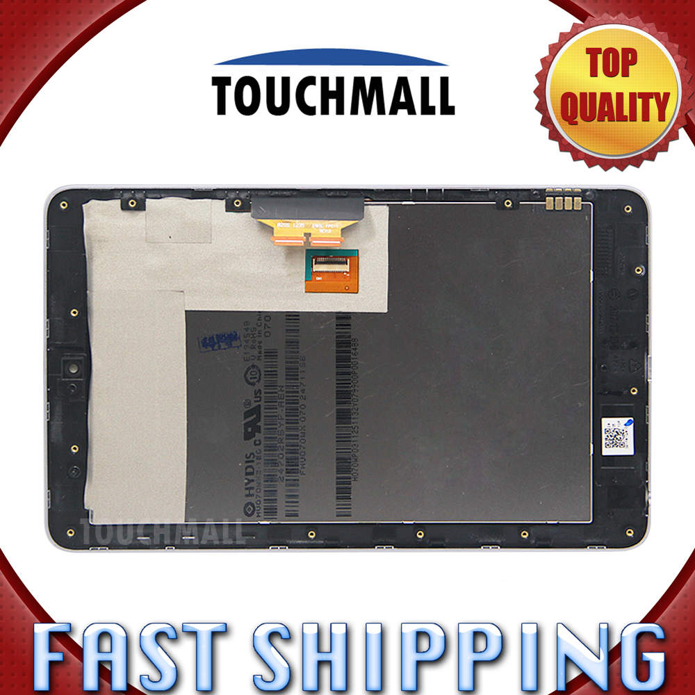 ФОТО For New LCD Display Touch Screen with Frame Assembly Replacement ASUS Google Nexus 7 Nexus7 2012 LTE/3G Black Free Shipping