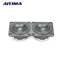 AIYIMA 2 шт 1,75 дюймов Полнодиапазонный динамик s 43 мм 4 Ом 5 Вт квадратный динамик высокой мощности