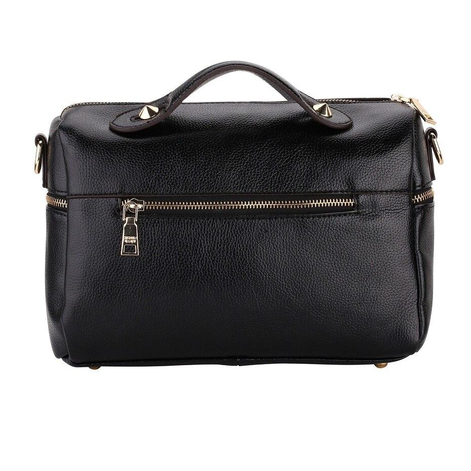 de alta qualidade da senhora Estilo2 : Real Natural Genuine Leather Womens Handbags Women Bag Cacual Tote