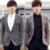 Nueva marca de moda de los hombres de mercancías de alta calidad Trajes de negocios casuales/del banquete de boda de Los Hombres traje chaqueta de Los Hombres del ocio delgado traje