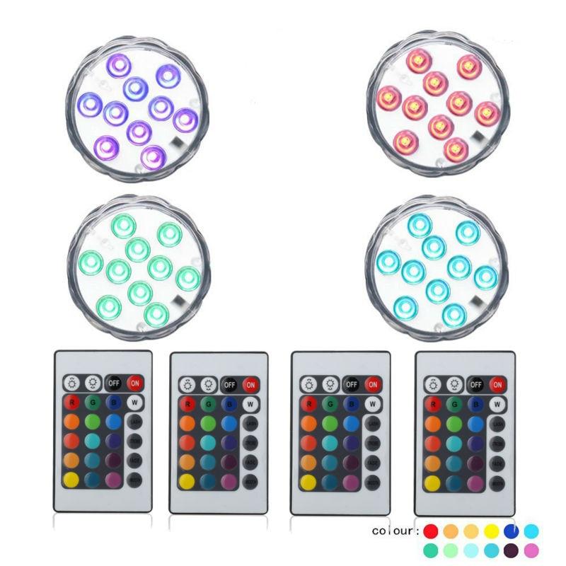1 * Luz del LED mesa de fiesta decoración jarrones luz para centros - Iluminación de vacaciones - foto 2