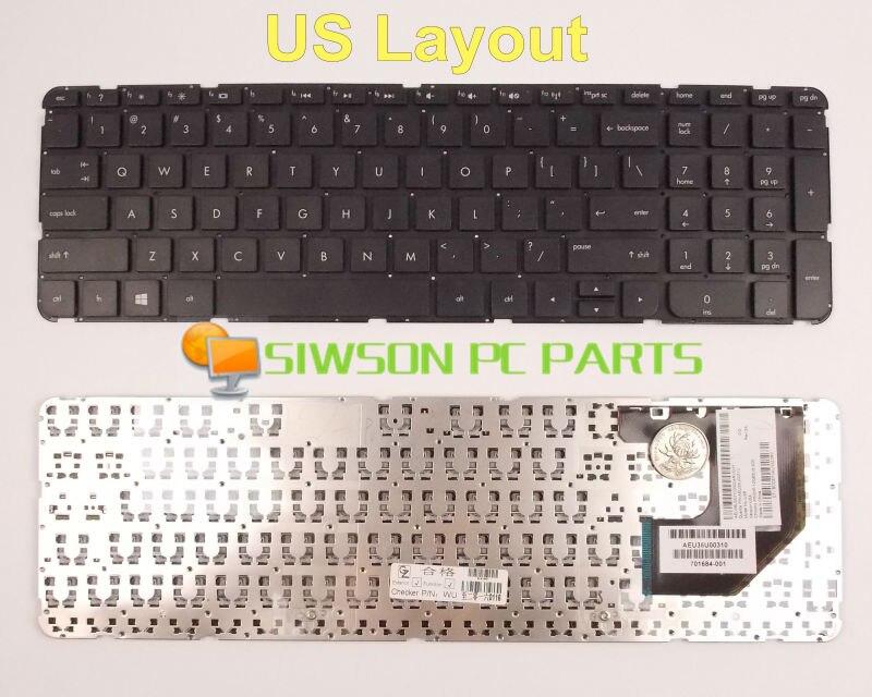 все цены на  New Keyboard US Version For HP Pavilion TouchSmart Sleekbook 15-b129ea 15-b129sa 15-b130ea Without Frame  онлайн