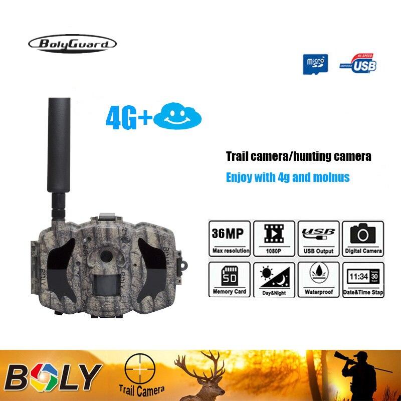 Image 3 - Bolyguard hunting camera 4G TrailCamera SMS night vision MMS GPRS Black IR 36MP 1080P HD Photo Traps thermal imagers Wildcamera-in Hunting Cameras from Sports & Entertainment