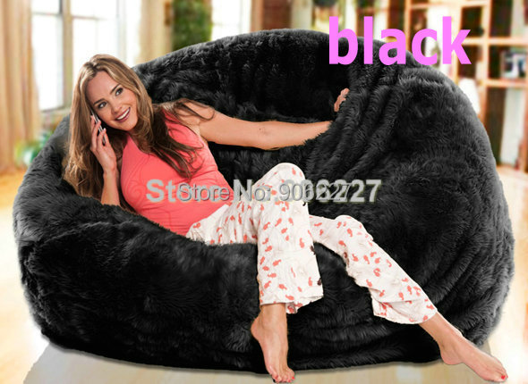 Super Us 99 3 Large Lush Soft Shaggy Alpaca Fur Bean Bag Cloud Bean Bag Chair Fur Sac Red Beige Black White Colors In Stock In Baby Seats Sofa From Alphanode Cool Chair Designs And Ideas Alphanodeonline