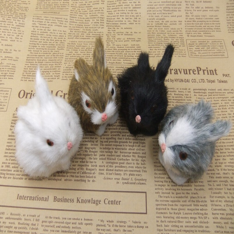 Kids Toys Decorations Birthday Gift Simulation Mini Pocket Toy Cute Artificial Animal Small Rabbit Plush Toys With A Frame