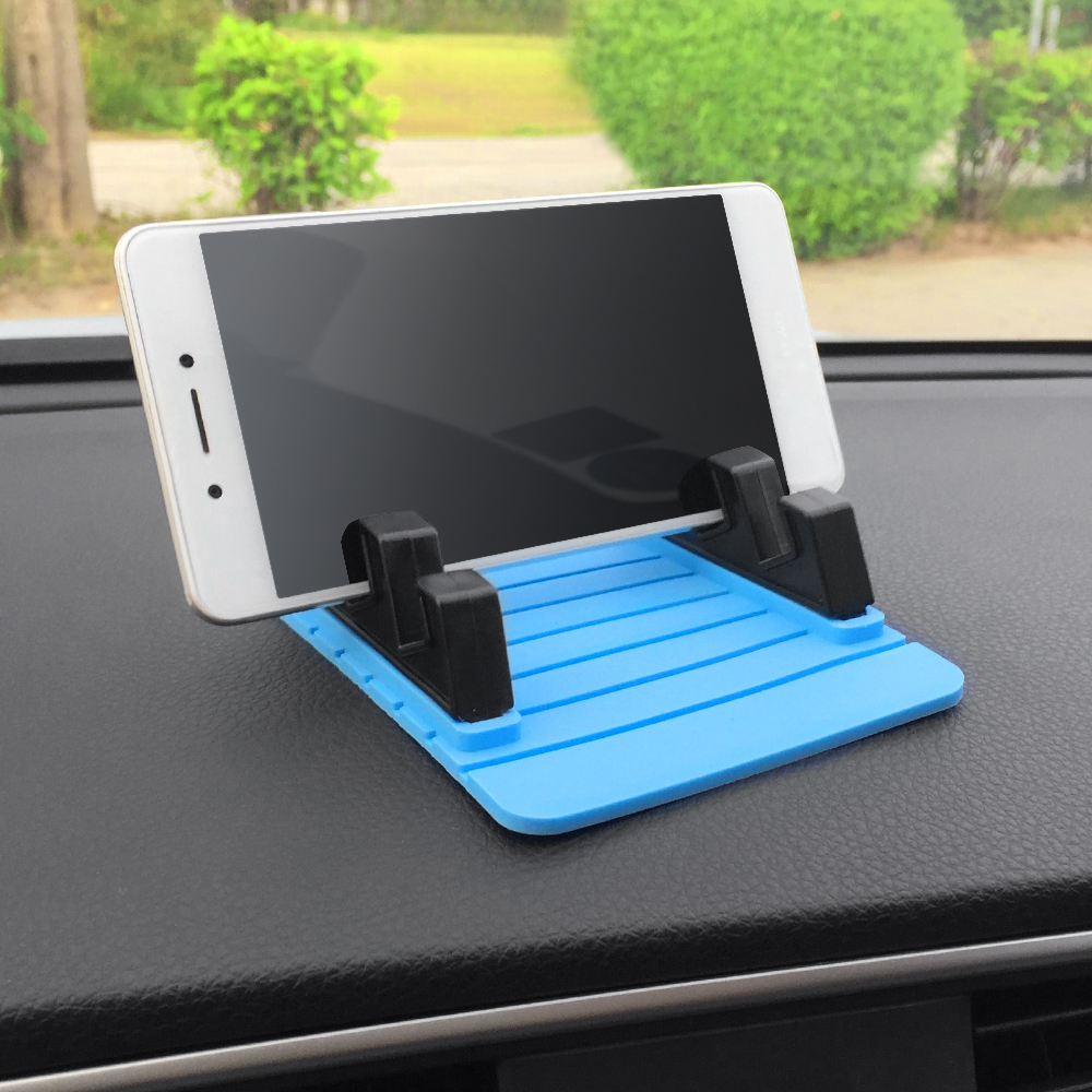 Anti-slip Mat Fast Deliver Car Ornament Soft Silicone Phone Holder Mat Pad Desk Non-slip Holder Stand Bracket Automobiles Dashboard Anti Slip Cushion Gifts