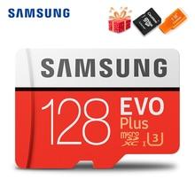 סמסונג Microsd כרטיס 256G 128GB 64GB 32GB 16GB 8GB 100 Mb/s Class10 U3 U1 SDXC כיתה EVO + מיקרו SD כרטיס זיכרון כרטיס TF כרטיס פלאש