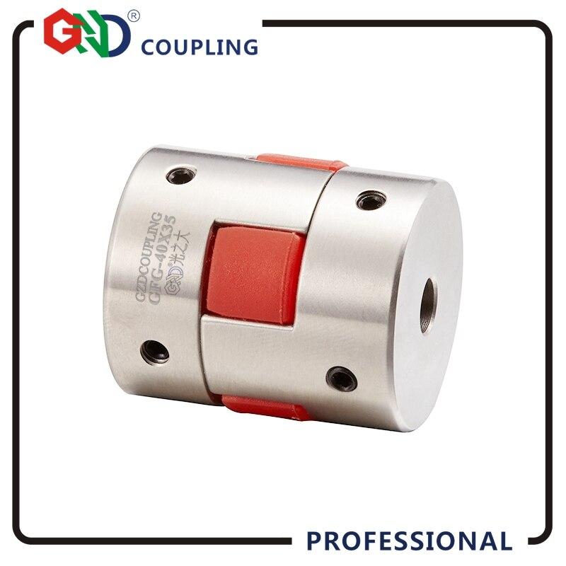 GND D30 L40 trou minimum 5mm maximum 16mm jaw arbre coupleur moteur flexible CNC bride kupplung wellen 8mm coupleur moteur