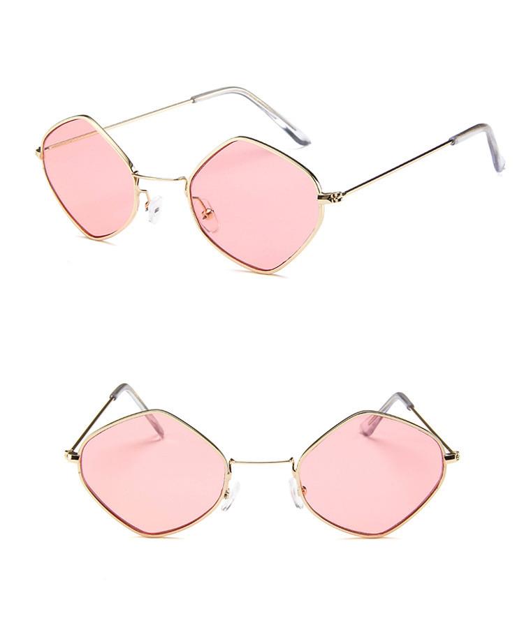 HTB1gDRFSpXXXXb.XpXXq6xXFXXXE - Rhombus Metal Framed Sunglasses Retro Small Size Lens PTC 223