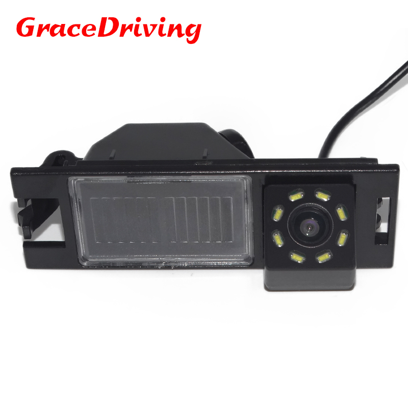 Waterproof night vision 8LED Parking Rear view Camera For Hyundai New Tucson IX35 2006-2014 Waterproof Reverse Backup Camera