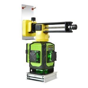 Image 5 - 2020 neue Fukuda Professionelle 16 Linie 4D laser ebene grüne Strahl 360 Vertikale Und Horizontale Selbst nivellierung Kreuz für outdoor